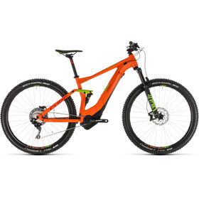 Cube Stereo Hybrid 120 Race 500 Orange'n'Green